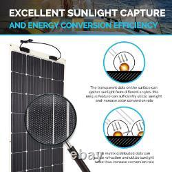 Solar Panel 175-Watt 12-Volt Extremely Flexible Ultra-Thin and Light Weight