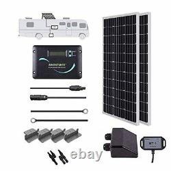 Solar Panel Charger for RV Trailer Camper 200Watt 200 Watt 5th Wheel Kit 12 Volt