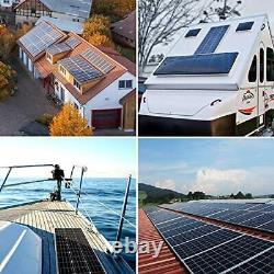 Solar Panel Kit 100 Watt 12 Volt Monocrystalline Off Grid System For Homes Rv Bo