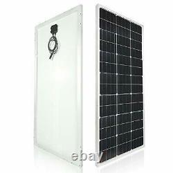 Solar Panel Kit 100 Watt 12 Volt Monocrystalline Off Grid System for Homes RV B