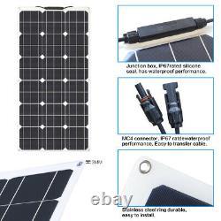 Solar Panel Module 300 Watt Flexible 12V Volt Poly Off Grid Battery Charge RV Bo