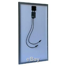Solar Panel Off-Grid Polycrystalline 100-Watt for 24/48-Volt Battery Charging