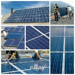 Solar Panel Panneau Solaire PV 200 W 2 100 W Poly Watt 12 Volt MC4 RV