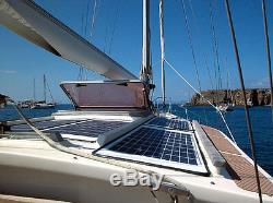 Solar Panel Panneau Solaire PV 200 W 2 100 W Watt Mono 12 Volt MC4 chaler RV