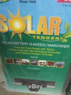 Solar Panel With Charging System-10 Watts At 12 Volts