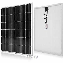 Solar Panels 150 Watt 12 Volt Monocrystalline Garden & Outdoor