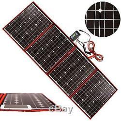Solar Panels 200 Watts 12 Volts Monocrystalline Foldable Inverter Charge