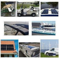 Solar Panels Kit System 300W 12Volt 110v And 220v 1000w Inverter For Home Roof