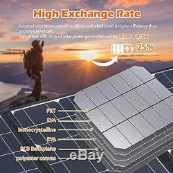 Solar Panels Portable Camping Battery Charger 12 Volt Ultra Thin Foldable 1.25KG