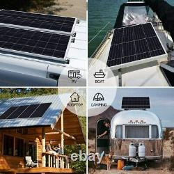 Sonali Solar 200 Watts 12 Volts Monocrystalline Kit with 30A PWM LCD Charge Contro