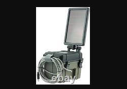 Stealth Cam HME-12VBBSLR Trail Cam Solar Auxiliary Power Pack 12Volt Battery Box