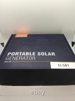 Suaoki Solar Generator 110 Volts G100 Portable Power Source