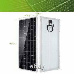 TP-solar 100W 12V Solar Panel Kit Battery Charger 100 Watt 12 Volt Off Grid