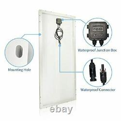 TP-solar 100W 12V Solar Panel Kit Battery Charger 100 Watt 12 Volt Off Grid for