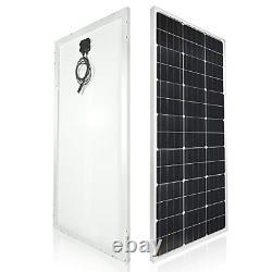 TP-solar Solar Panel Kit 100 Watt 12 Volt Monocrystalline Off Grid System for RV