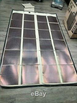 Thales PowerFilm120 Watt Portable Foldable Solar Panel 7.2 Amps /15.4 Volts