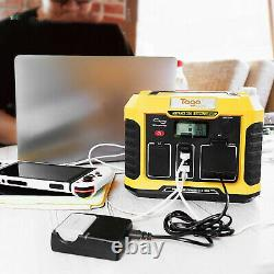 Togo Power Advance 350 Portable Power Station 120 Volt 330 Watt Outlets And USB