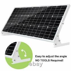 Topsolar 100W 12V Solar Panel Kit Battery Charger 100 Watt 12 Volt Off Grid