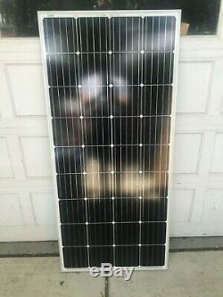 Two Solar Panels 200 Watt Each, 36 Cell, Monocrystalline RV 12 Volt Off-Grid