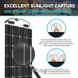 Ultra Thin Extremely Flexible 100 Watt 12 Volt Monocrystalline Solar Panel