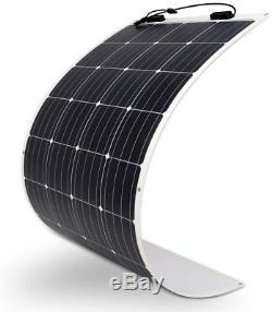 Ultra Thin Extremely Flexible 160 Watt 12 Volt Monocrystalline Solar Panel Renog
