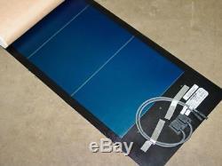 Uni-Solar PVL-116T 116 Watt 24 Volt Brand New Flexible Amorphous Solar Panel