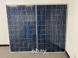 Used 24 Volt 230W Solar Panels 5750 Watts Lot Of 25 WithUL Free shipping