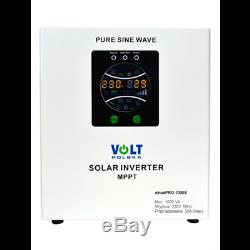 VOLT sinus PRO-1000S PURE SINE WAVE SOLAR INVERTER
