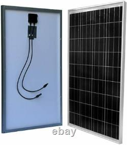 WindyNation 100 Watt 100W Solar Panel for 12 Volt Battery Charging RV, Boat, Off