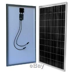 WindyNation 100-Watt 12-Volt Off-Grid Polycrystalline Solar Starter Kit with