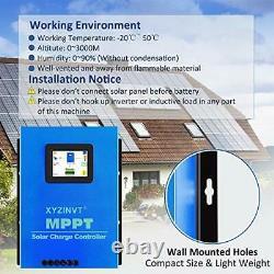 XYZ INVT MPPT Solar Charge Controller 60A Max 170V Input Volt PV Solar Panel